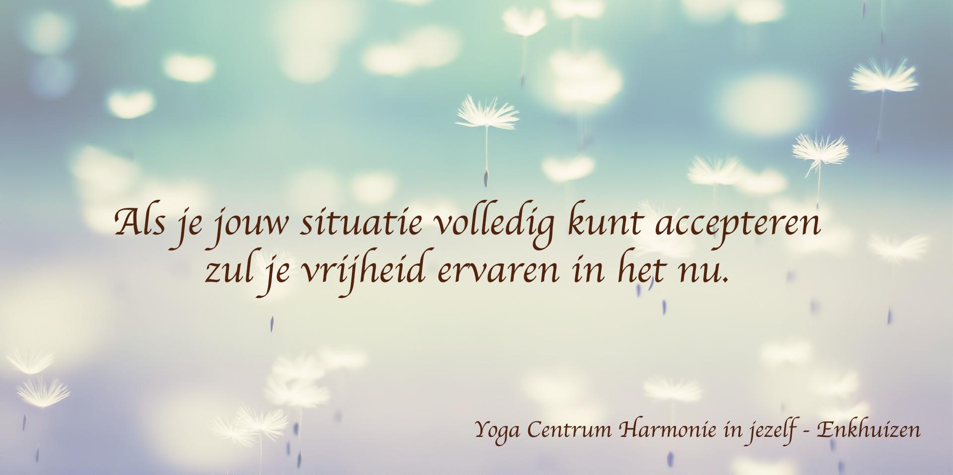 Yoga & Mindfulness Centrum Harmonie in jezelf
